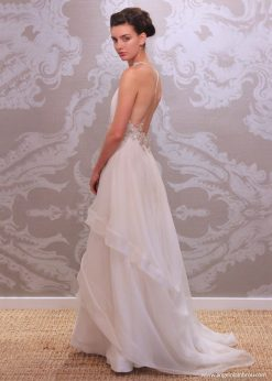 Wedding Dress Anjel Alba Side By Angelo Lambrou