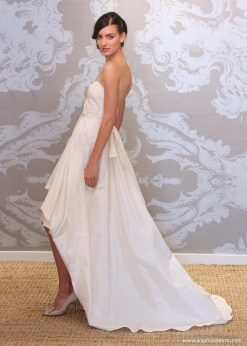 Wedding Dress Anjel Aura Back By Angelo Lambrou