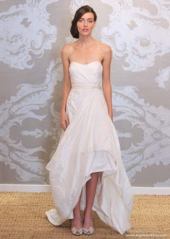 Wedding Dress Anjel Aura Front By Angelo Lambrou