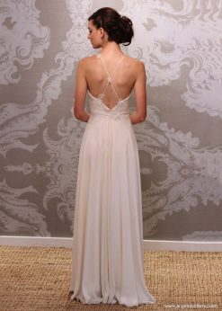 Wedding Dress Anjel Emilia Back By Angelo Lambrou
