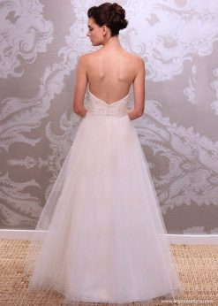 Wedding Dress Anjel Eteria Back By Angelo Lambrou