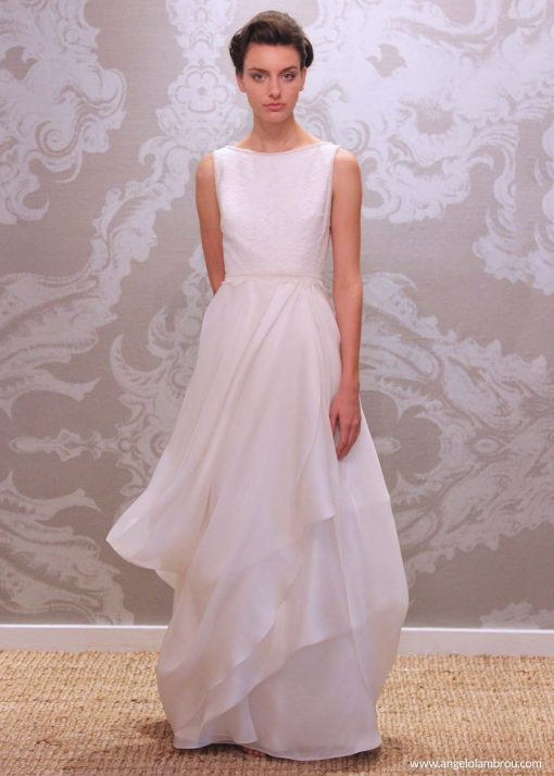 Wedding Dress Anjel Gracia Front By Angelo Lambrou