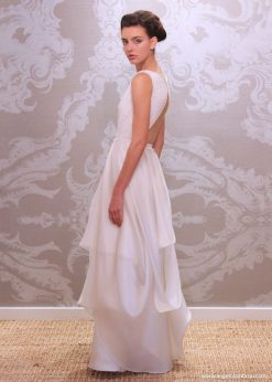 Wedding Dress Anjel Gracia Side By Angelo Lambrou
