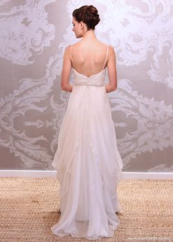 Wedding Dress Anjel Rocio Back By Angelo Lambrou