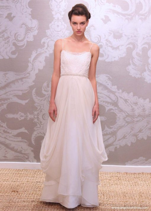 Wedding Dress Anjel Rocio Front By Angelo Lambrou