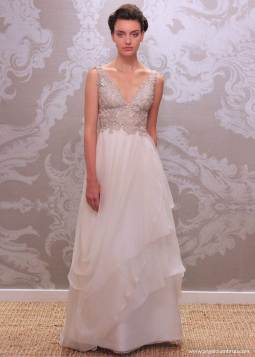 Wedding Dress Anjel Sol Front By Angelo Lambrou