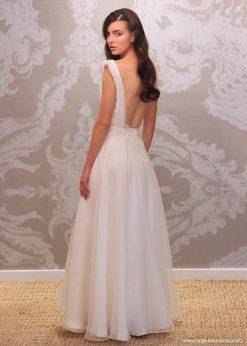 Wedding Dress Anjel Valentina Back By Angelo Lambrou