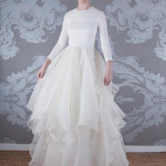 2017 Wedding Dress Fairie Front